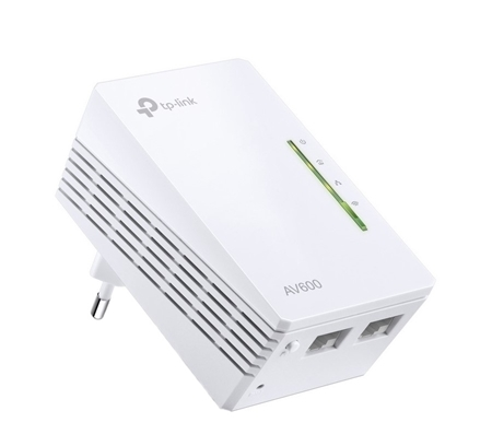 Picture of TP-Link TL WPA4220 Powerline ext Single WiFi / Wired reciever only