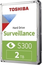 Picture of Toshiba S300 2TB 3.5-inch Surveillance Hard Drive