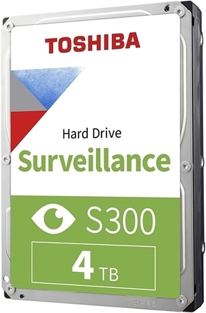 Picture of Toshiba S300 4TB 3.5-inch Surveillance Hard Drive