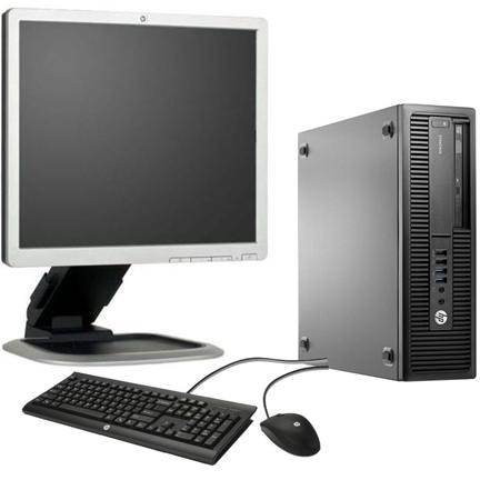 Picture of HP Elitedesk i5-6500 8GB 256GB SSD Win10Pro 19Inch
